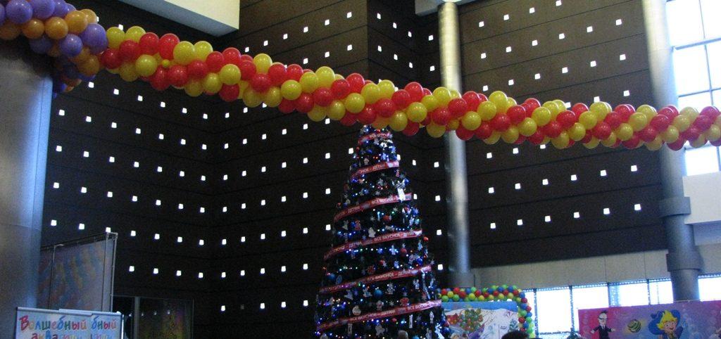 шарики на новый год